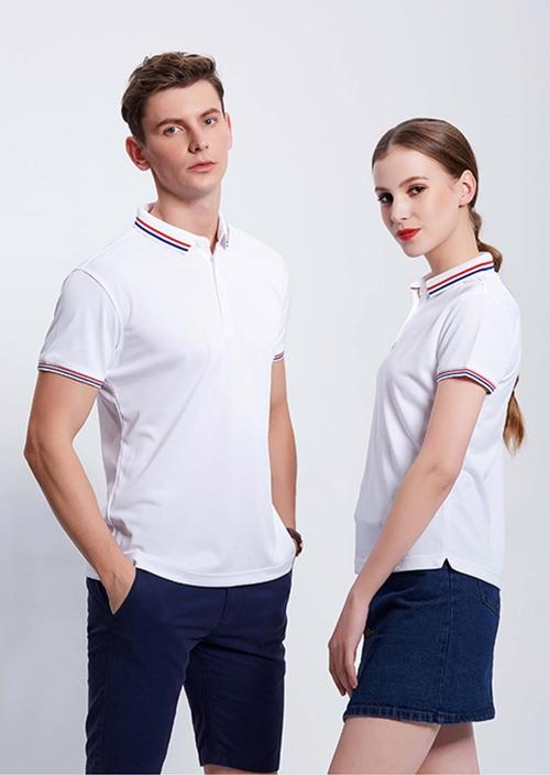 2866亚麻珠地T恤