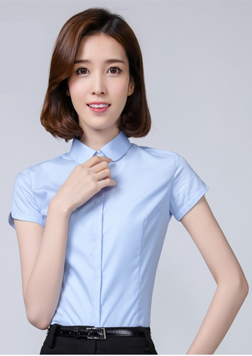 女士短袖衬衫定制