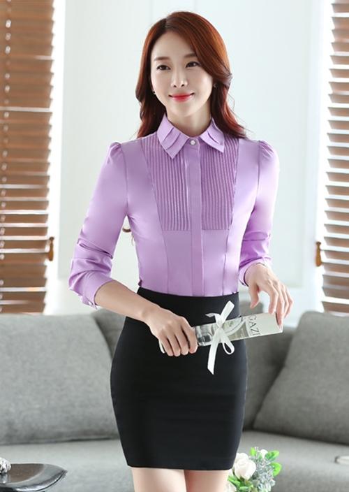 女士长袖衬衫定制