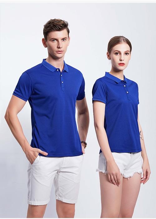 2858亚麻珠地T恤